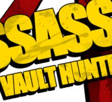 Assassin Sticker