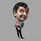 Mr Bean Sticker by vincepro76