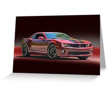 2012 Chevrolet Camaro SS Greeting Card
