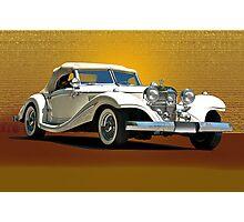 1937 Mercedes 540 SSK  Photographic Print