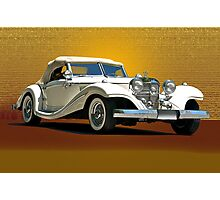 1937 Mercedes 540 SSK  Photographic Print