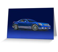 2000 Cadillac SLR Greeting Card