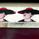 Red Hat Ladies of Stokes Croft by paintingsheep