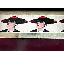 Red Hat Ladies of Stokes Croft Photographic Print