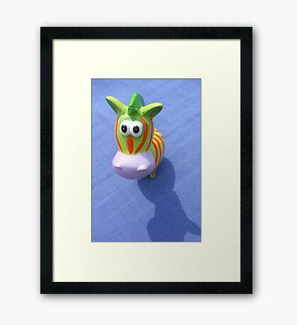 Hello !  Framed Print