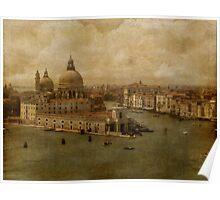 Vintage Venice Poster