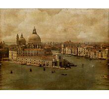 Vintage Venice Photographic Print