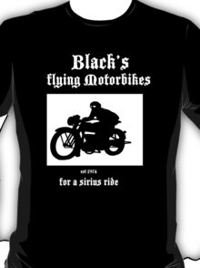 Black's Flying Motorbikes T-Shirt