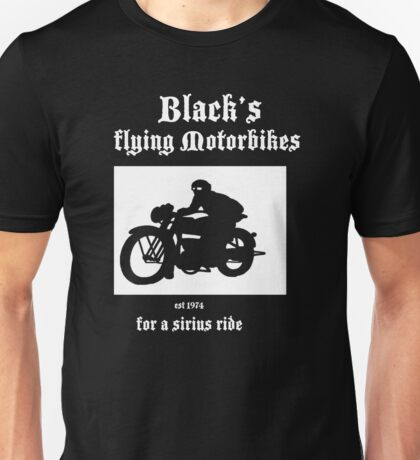 Black's Flying Motorbikes Unisex T-Shirt