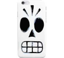Manny Calavera (Distressed) iPhone Case/Skin