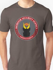 Mordor Security Agency T-Shirt