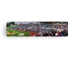 Baseball Crowd Canvas Print
