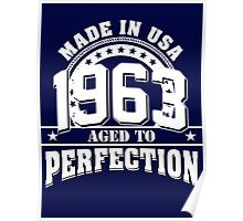 1963 - AGED TO PERFECTION Poster