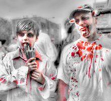 Father & Son Zombies by Noam  Kostucki