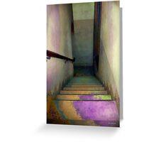 Between Floors Greeting Card