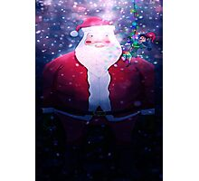 Poor Santa Stuck In The Chimney! Photographic Print
