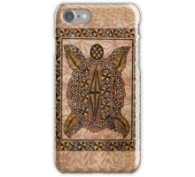 Honu Primitive Hawaiian Tattoo Tapa iPhone Case/Skin