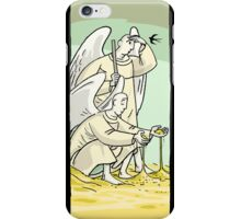 guardian angel iPhone Case/Skin