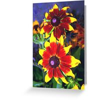 Very bright daisies Greeting Card