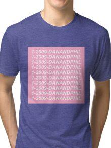 1-2009-DANANDPHIL Tri-blend T-Shirt
