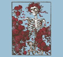 Flowers And A Skeleton  by Look Human