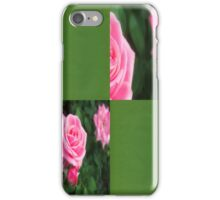 Pink Roses in Anzures 1 Blank Q5F0 iPhone Case/Skin