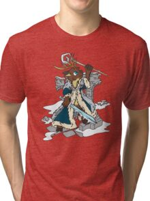 Winter Mage Tri-blend T-Shirt
