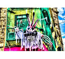 Ghost in Valencia, Spain Photographic Print
