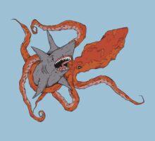 MEGA SHARK vs KRAKEN! by Lukee Thornhill