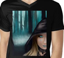 Wicked? Mens V-Neck T-Shirt