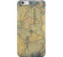 I go to seek a Great Perhaps iPhone Case/Skin