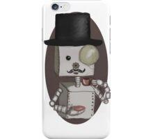 Gentleman bot iPhone Case/Skin