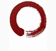 large red enso with out text Unisex T-Shirt