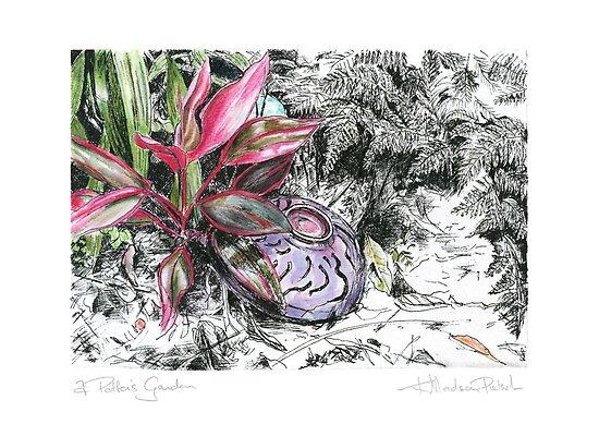 A Potter's Garden (No.5) by Kerryn Madsen-Pietsch