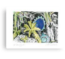A Potter's Garden (No.6) Canvas Print