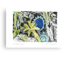 A Potter's Garden (No.6) Canvas Print