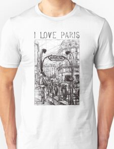 Paris 6 Unisex T-Shirt