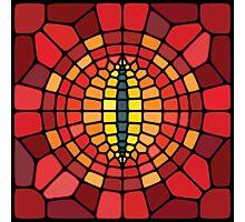 Eye of Sauron - Voronoi Photographic Print