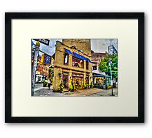 Psychic Parlor in New York City, USA Framed Print