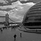 Tower Bridge & City Hall, London by JMChown