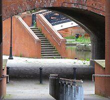 footway, waterway, railway (Manchester) by lightworks