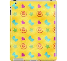 Hearts, Bows, Stars, and Spirals iPad Case/Skin