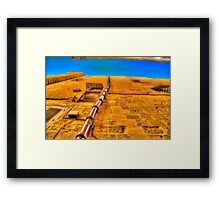The Most Beautiful Wall of Malta Framed Print