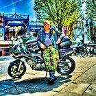 Shiny Bicker in Bristol, UK by Noam  Kostucki