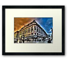 Central London, UK Framed Print