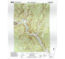 USGS Topo Map  Vermont VT Townshend 104805 1997 24000 Poster