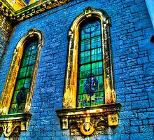 Church Windows in Gibraltar by Noam  Kostucki