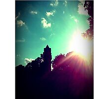 Mansion Tower Photographic Print