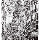 Paris 5 by Tatiana Ivchenkova