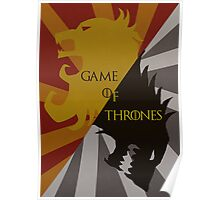 Game of Thrones Poster Poster